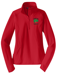 Picture of Troop 750 Ladies Sport-Wick Stretch 1/2-Zip Pullover