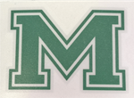 Picture of MHS Mens LAX Helmet Decal with Personalization Number