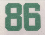 Picture of MLC Helmet Decal with Personalization Number