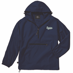Picture of Freedom Elite Hooded Unlined 1/4 zip Charles River Jacket