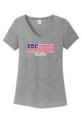 Picture of Freedom Elite Ladies V-Neck Tee