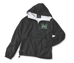 Picture of Mason Softball Hooded 1/4 zip Charles River LINED Jacket