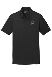 Picture of SPC Men's Black Nike Polo