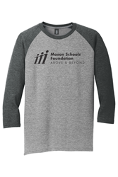 Picture of MSF 3/4 Sleeve Unisex Raglan T-Shirt