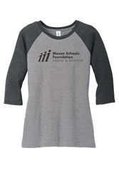 Picture of MSF 3/4 Sleeve Ladies Raglan T-Shirt