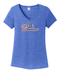 Picture of Cincy Slammers Ladies V-Neck (Glitter Option)