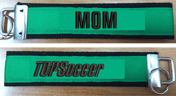 Picture of TOPSoccer Custom Keychain