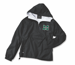 Picture of MHS GLAX Hooded 1/4 zip Charles River Jacket