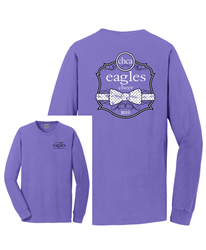 Picture of CHCA Cheer Pigment Dyed Long Sleeve T