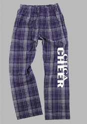 Picture of CHCA Cheer Flannel Pants