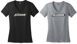 Picture of Mason Aftershock Ladies Glitter V neck