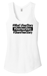 Picture of What's Your Story Women's Triblend Tank top