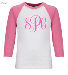 Picture of SPC Girl's Raglan T