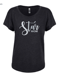 Picture of SPC Ladies Dolman Star Mom Shirt