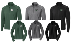 Picture of MHS Cross Country Sportwick 1/4 Zip Pullover