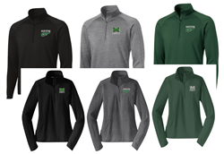 Picture of MMS Sportwick 1/4 Zip Pullover
