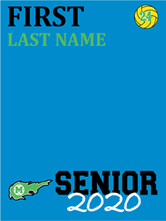 Picture of MHS WATER POLO SENIOR BANNER
