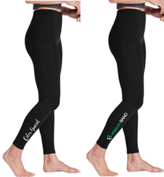 Picture of Mason Band Ladies High Rise 7/8 Leggings