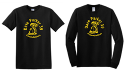 Picture of Dave Parker 39 Foundation Black Cotton Short or Long Sleeve T