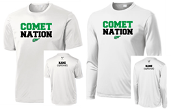 Picture of MHS GLAX Spirit Wear White Drifit Short or Long Sleeve T-shirt