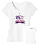 Picture of United to Support Women's Triblend V-Neck