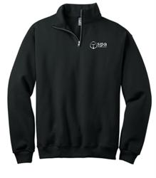 Picture of SPA JERZEES® - 1/2 Zip Cadet Collar Sweatshirt