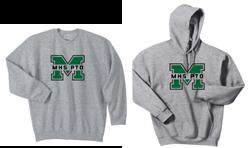 Picture of MHS PTO Crewneck or Hoodie Sweatshirt
