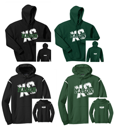 Picture of MHS Cross Country Fleece Hoodie Options