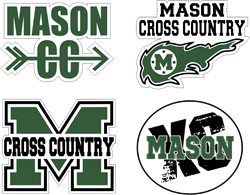 Picture of MHS Cross Country Sticker Pack