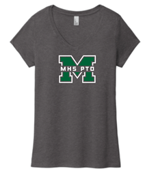 Picture of MHS PTO Ladies Triblend V-Neck T