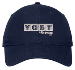 Picture of Yost Pharmacy - New Era Adjustable Unstructured Cap