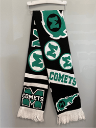 Picture of Mason Comets Reversible Scarf