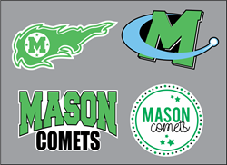 Picture of Mason Comets Sticker Pack