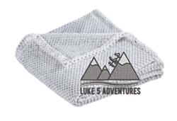 Picture of Luke 5 Adventures Plush Texture Blanket