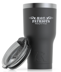Picture of HOT Patriots Rtic 20 oz Etched Tumbler