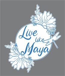 Picture of Team Maya Car Decal