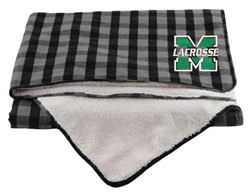 Picture of MHS GLAX Flannel Sherpa Blanket