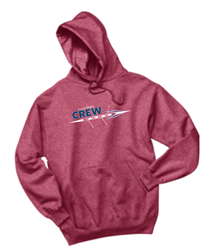 Picture of Great Miami Crew  Heather Red Hoodie