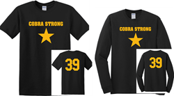 Picture of Dave Parker 39 Foundation Cobra Strong Short or Long Sleeve T