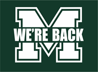 """Picture for category MHS Cheer """"We're Back"""" Fundraiser Shirt"""