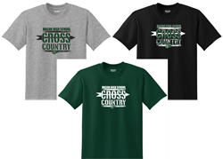 Picture of MHS Cross Country Poly Blend T-Shirt  Options