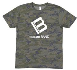 Picture of Mason Band Camo Logo Shirt